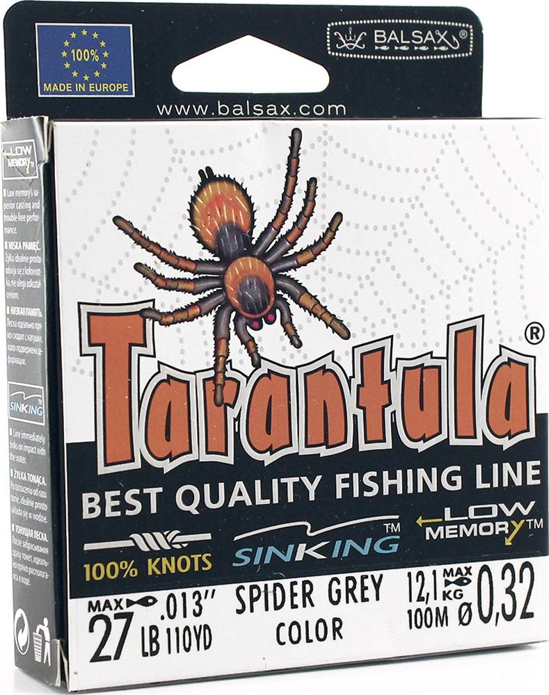 Леска Balsax Tarantula, 100 м, 0,32 мм, 12,1 кг