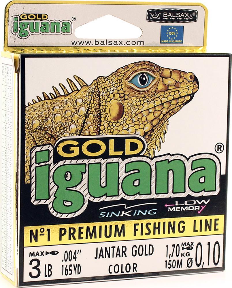 Леска Balsax Iguana Gold, 150 м, 0,10 мм, 1,7 кг