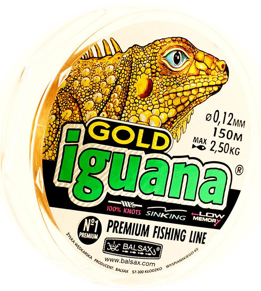 Леска Balsax Iguana Gold, 150 м, 0,12 мм, 2,5 кг Balsax