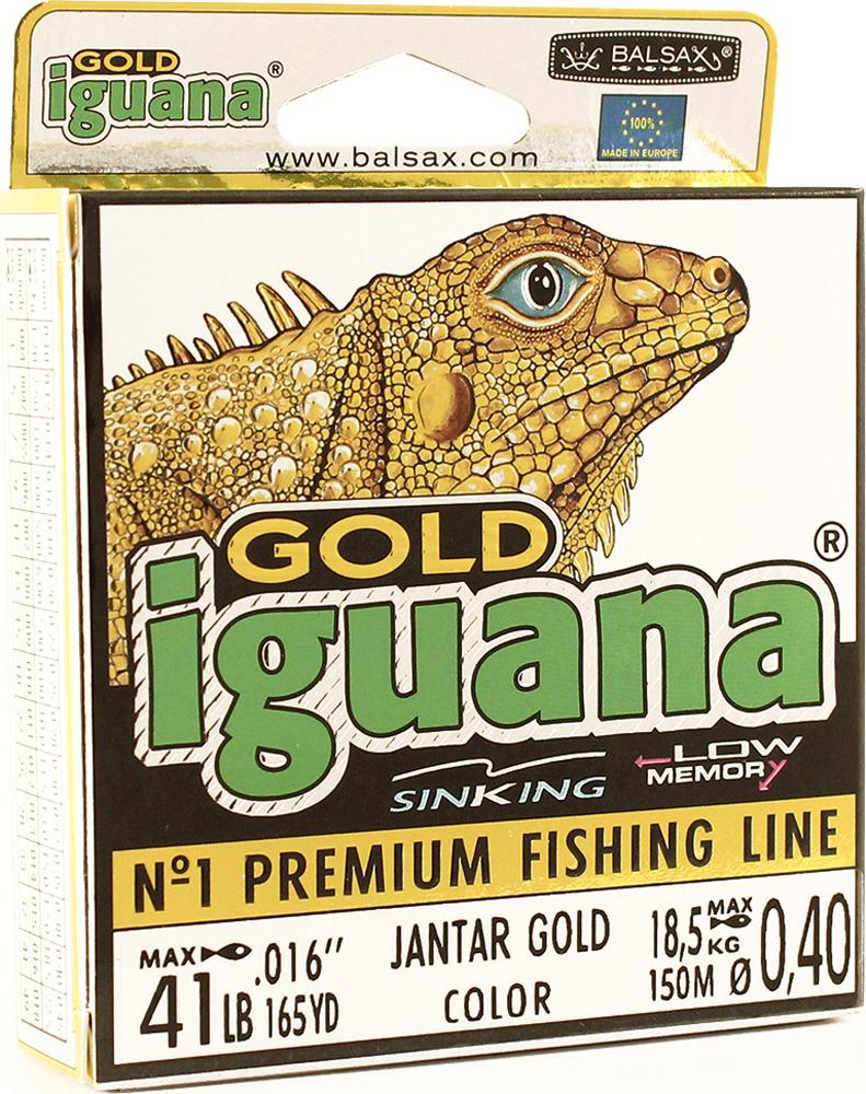 Леска Balsax Iguana Gold, 150 м, 0,40 мм, 18,5 кг