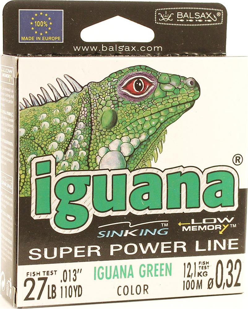 Леска Balsax Iguana, 100 м, 0,32 мм, 12,1 кг