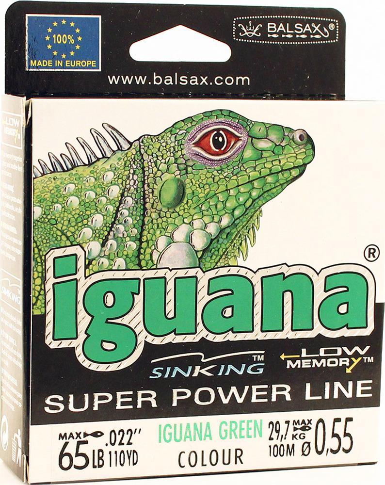 Леска Balsax Iguana, 100 м, 0,55 мм, 29,7 кг