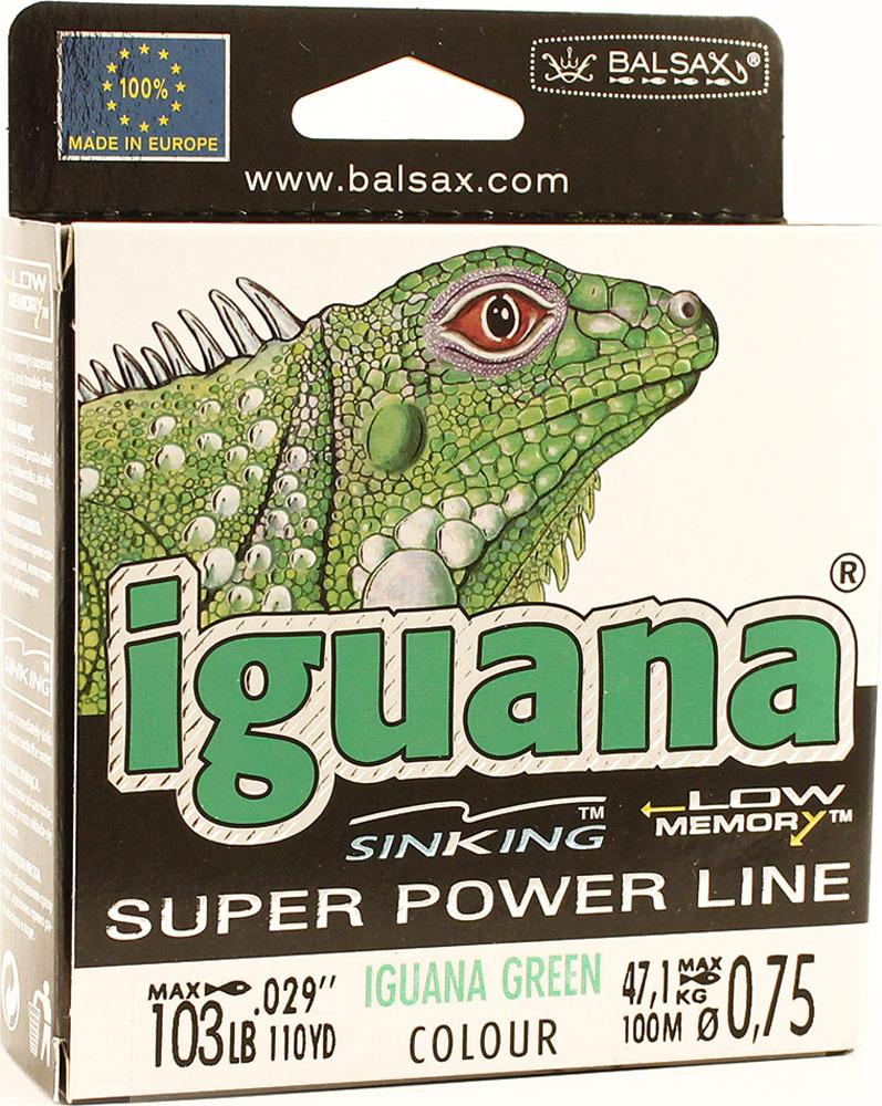 Леска Balsax Iguana, 100 м, 0,75 мм, 47,1 кг