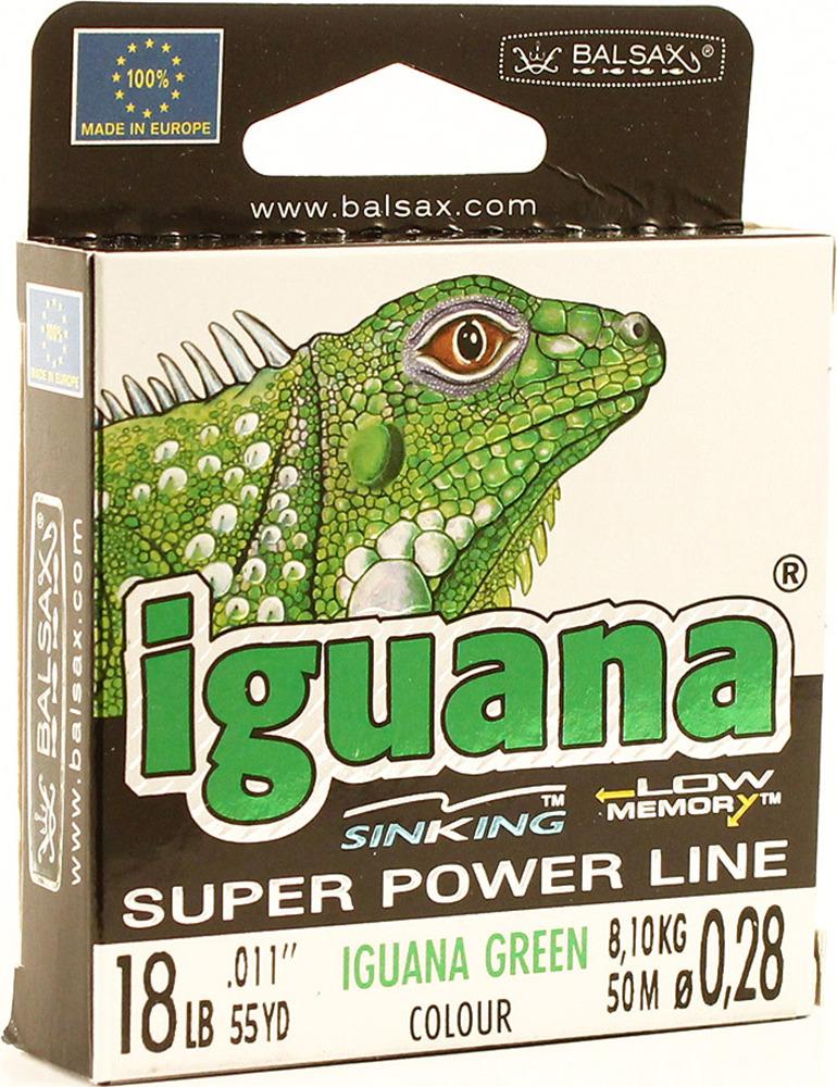 Леска Balsax Iguana, 50 м, 0,28 мм, 8,10 кг