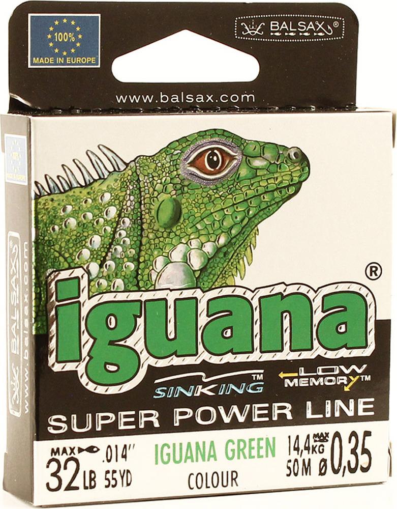 Леска Balsax Iguana, 50 м, 0,35 мм, 14,4 кг