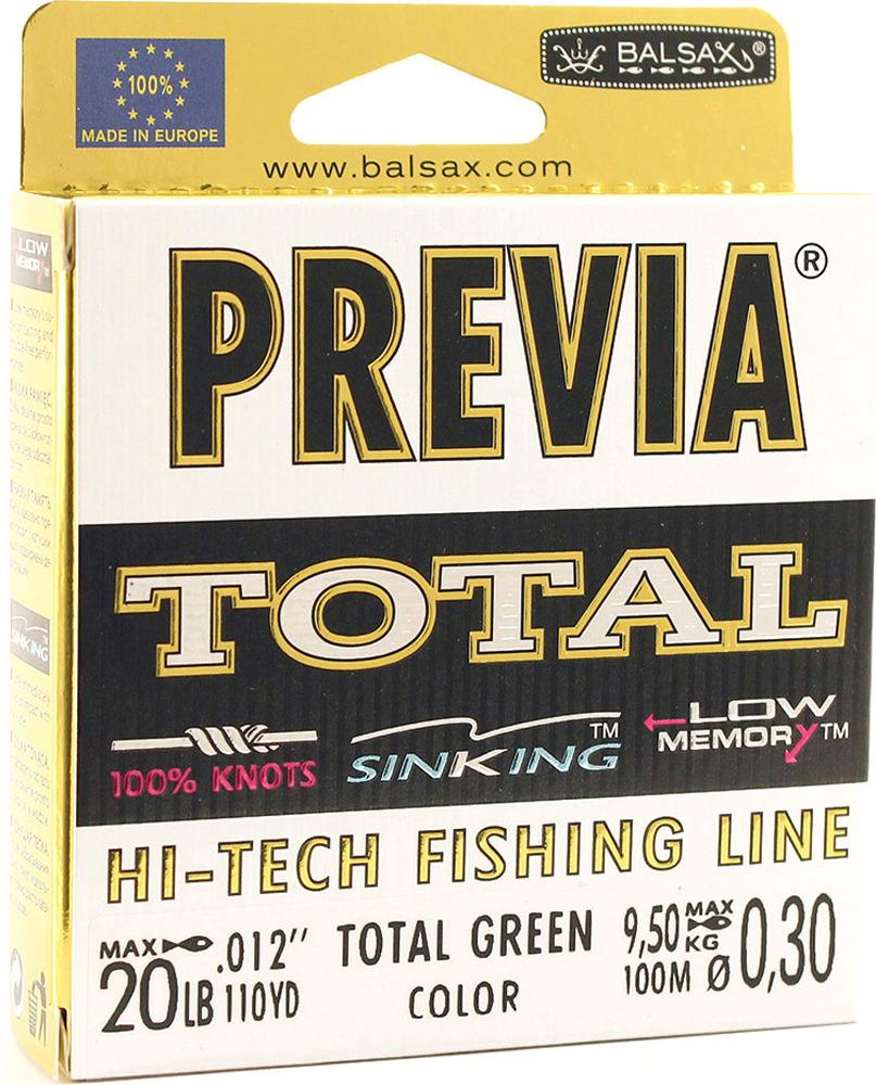 Леска Balsax Previa Total, 100 м, 0,30 мм, 9,5 кг