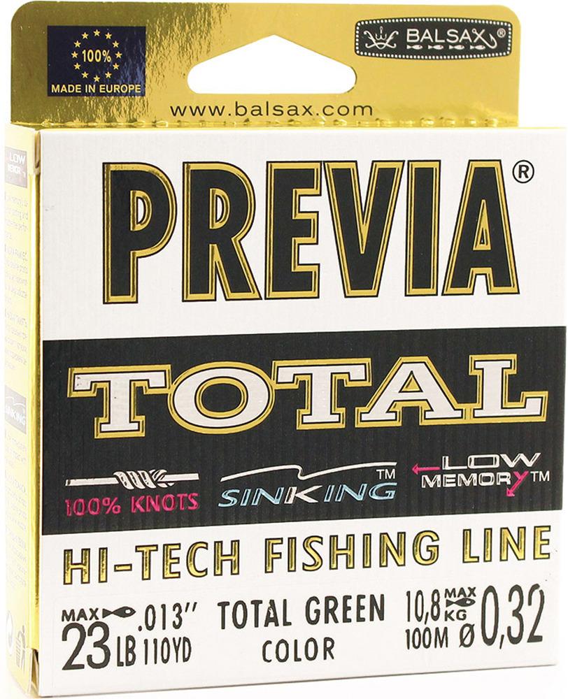 Леска Balsax Previa Total, 100 м, 0,32 мм, 10,8 кг