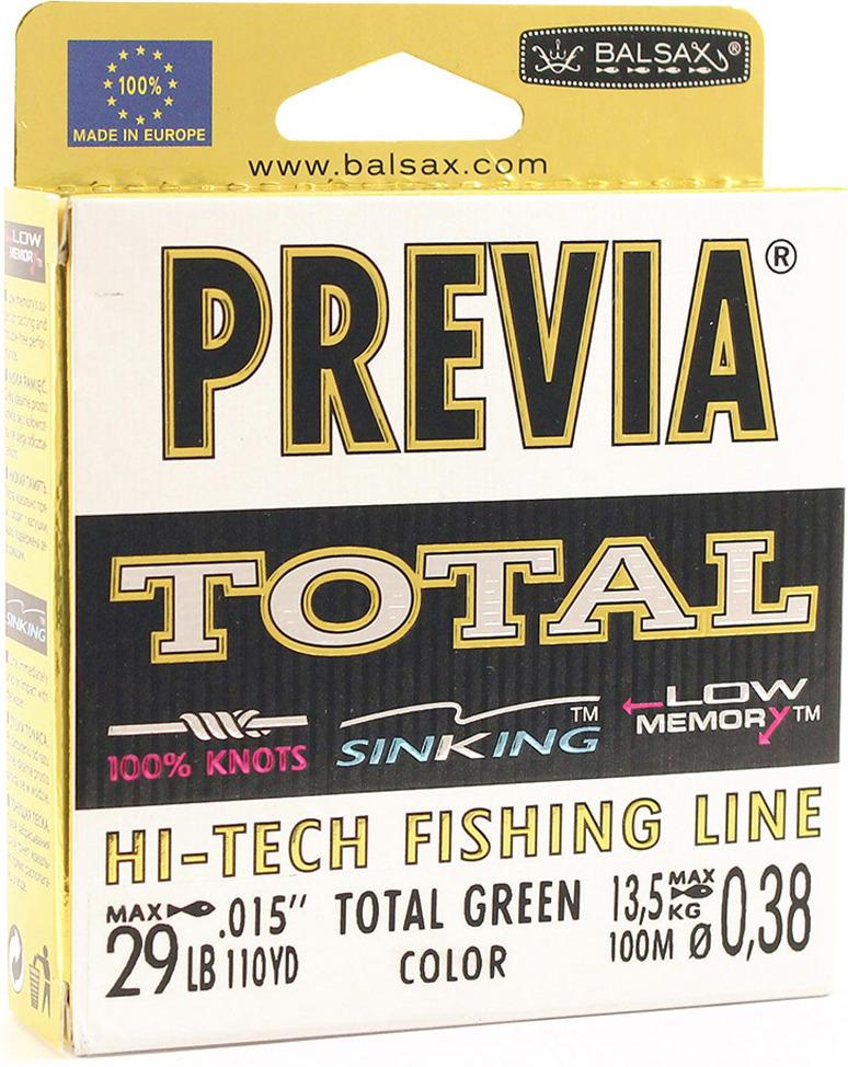 Леска Balsax Previa Total, 100 м, 0,38 мм, 13,5 кг