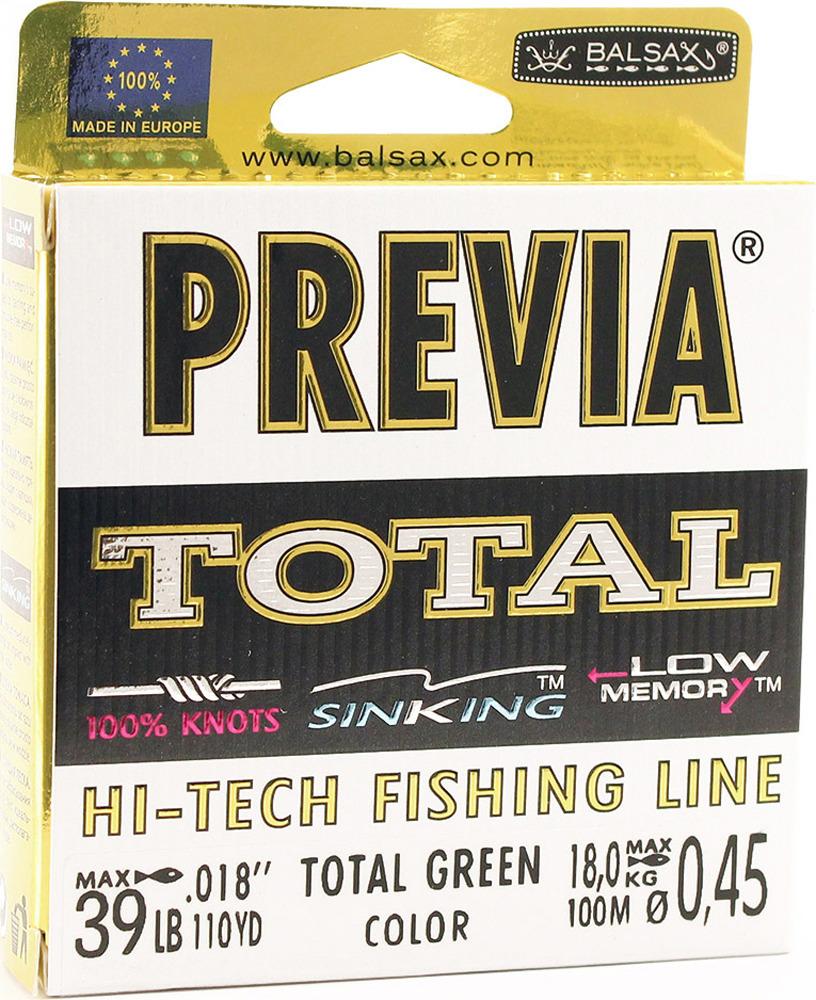 Леска Balsax Previa Total, 100 м, 0,45 мм, 18,0 кг