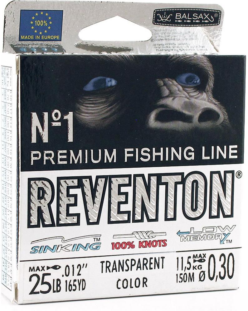 Леска Balsax Reventon Transparent, 150 м, 0,30 мм, 11,5 кг