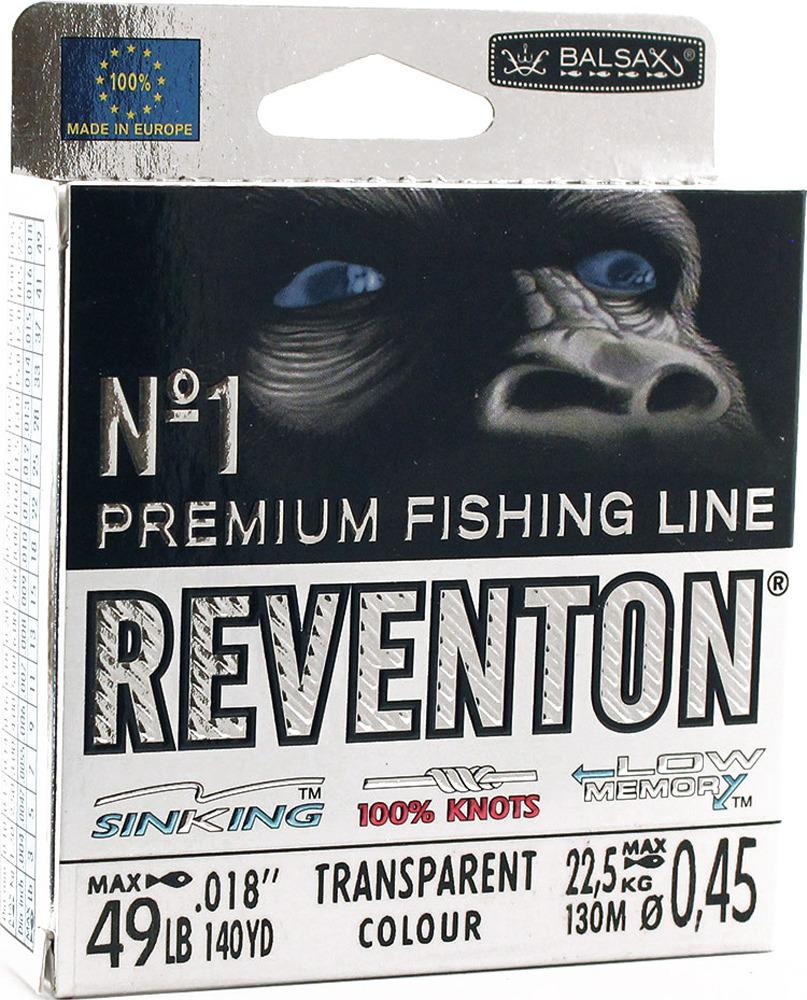 Леска Balsax Reventon Transparent, 130 м, 0,45 мм, 22,5 кг68537Серия REVENTON является абсолютным лидером среди рыболовных лесок. В эпоху современной рыболовной лески, которая является неотъемлемым элементом каждого рыболова. Принимая во внимание различные условия, такие как специфичность ловли, виды пойманной рыбы, специфические методы рыбалки, сезонность, погодные условия, тактика, вы должны понимать что стоит оснастить современной леской. Лески серии REVENTON характеризуются высокой линейной прочностью на узле под динамической нагрузкой. Леска имеет пониженный коэффициент скольжения и статического трения. Демонстрирует оптимально подобранную эластичность и мягкость, практически нулевую память. Это означает что леска не поддается деформации. Гладкая поверхность, ровная структура, высокая эластичность и отсутствие памяти, обеспечивают дальние и точные забросы. Цвет лески - Прозрачный