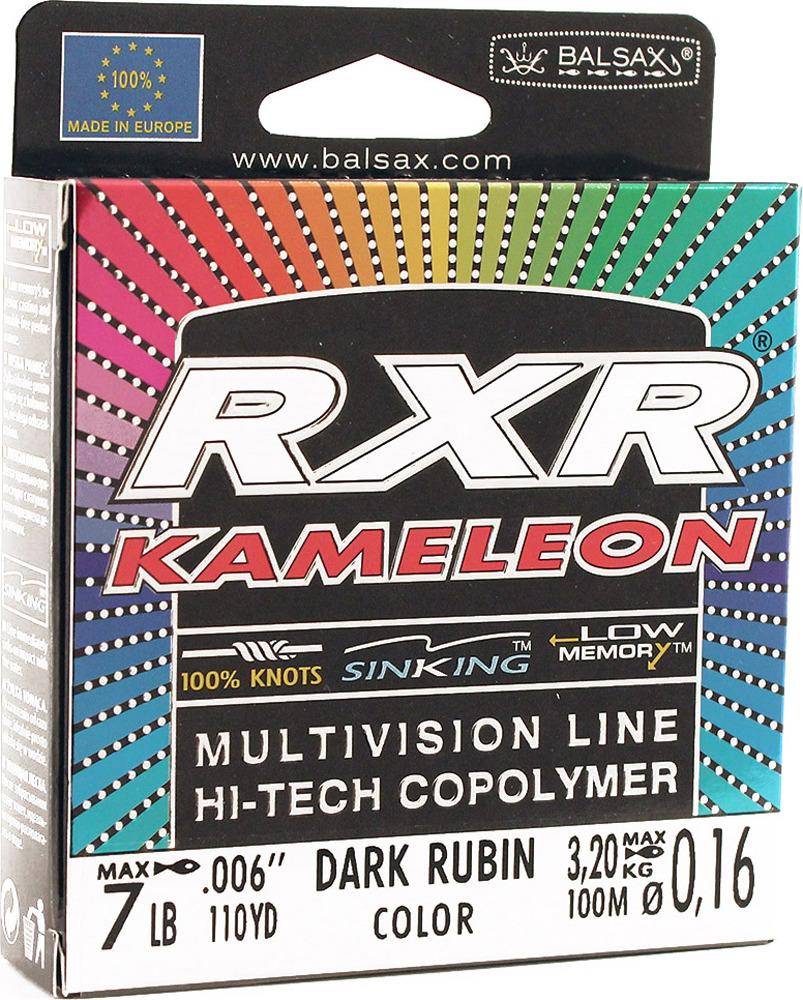 Леска Balsax RXR Kamelion, 100 м, 0,16 мм, 3,2 кг леска balsax rxr kameleon 100 м 0 12 мм 1 85 кг