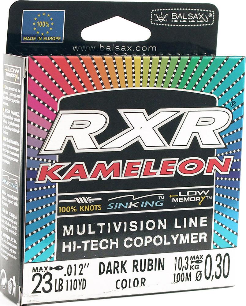 Леска Balsax RXR Kamelion, 100 м, 0,30 мм, 10,3 кг