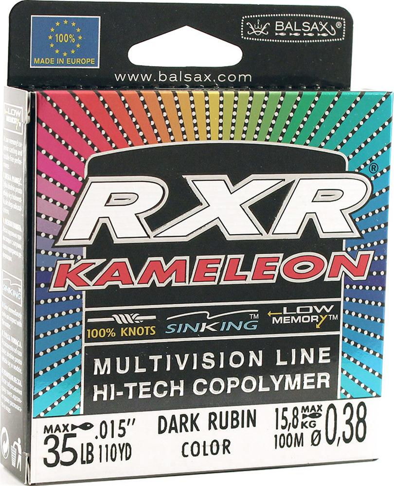 Леска Balsax RXR Kamelion, 100 м, 0,38 мм, 15,8 кг леска balsax rxr kameleon 100 м 0 12 мм 1 85 кг