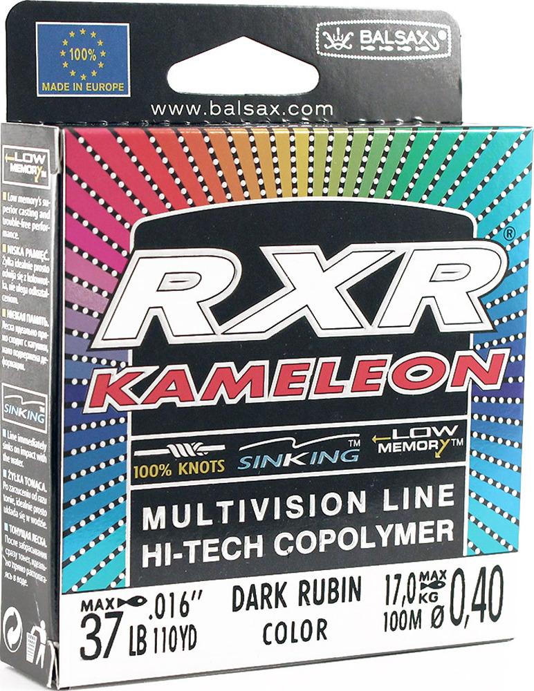 Леска Balsax RXR Kamelion, 100 м, 0,40 мм, 17,0 кг леска balsax rxr kameleon 100 м 0 12 мм 1 85 кг