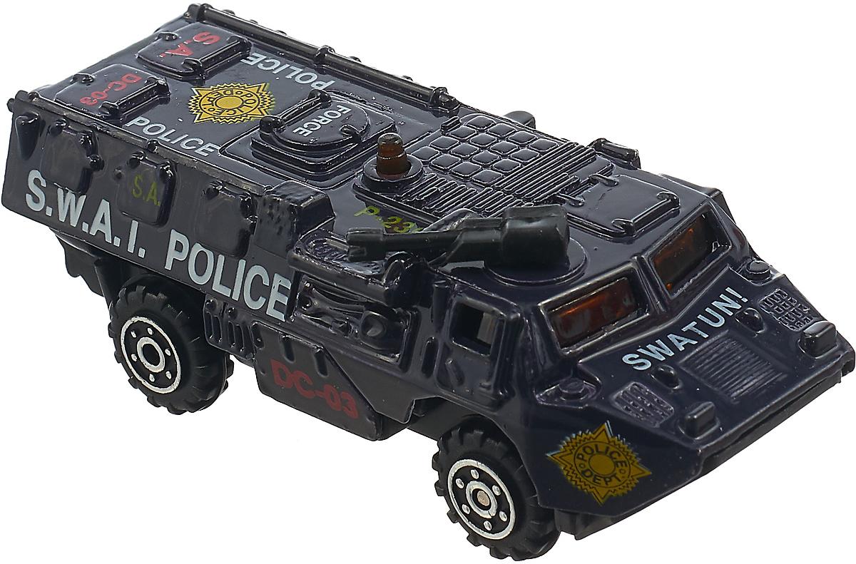 Машинка Pioneer Toys S.W.A.T. Police 236, цвет: темно-синий pioneer toys машинка строительная техника каток