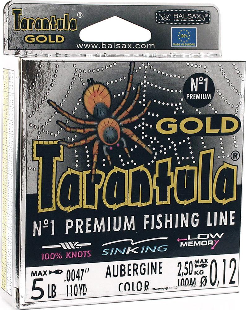 Леска Balsax Tarantula Gold, 100 м, 0,12 мм, 2,5 кг