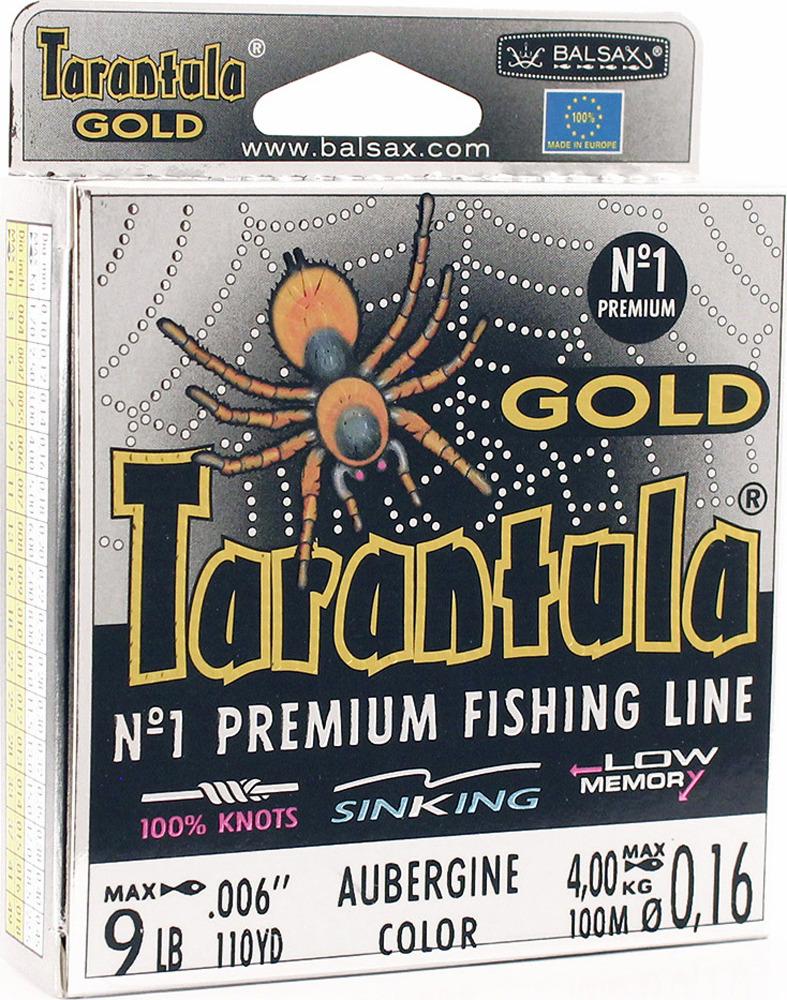 Леска Balsax Tarantula Gold, 100 м, 0,16 мм, 4,0 кг леска balsax tarantula gold 100 м 0 32 мм 13 0 кг