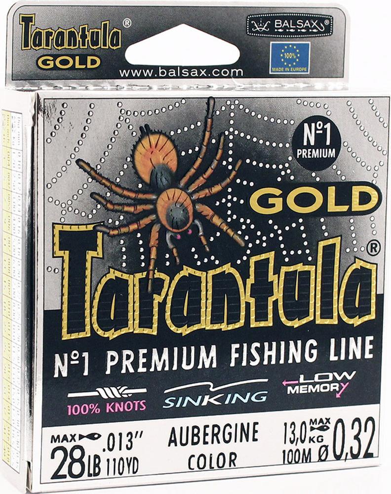 Леска Balsax Tarantula Gold, 100 м, 0,32 мм, 13,0 кг леска balsax tarantula gold 100 м 0 32 мм 13 0 кг