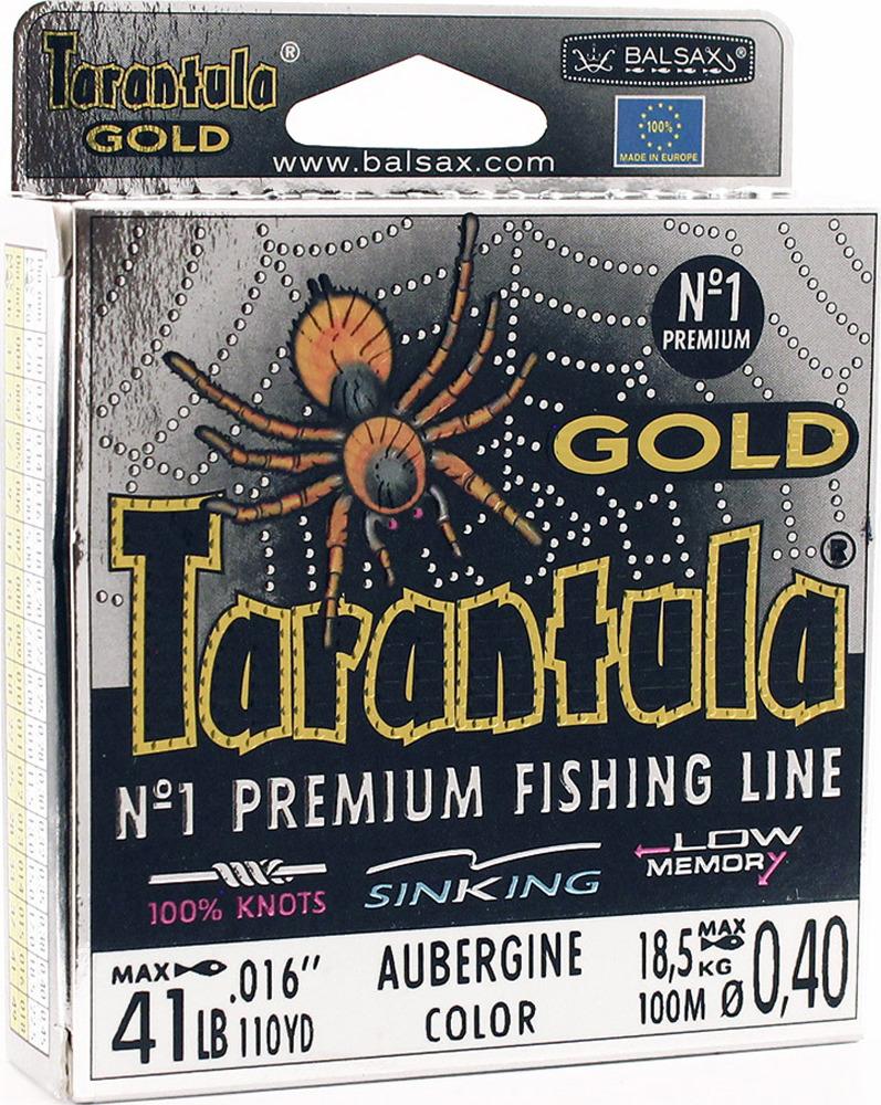 Леска Balsax Tarantula Gold, 100 м, 0,40 мм, 18,5 кг леска balsax tarantula gold 100 м 0 32 мм 13 0 кг