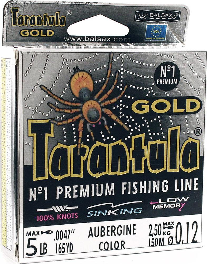 Леска Balsax Tarantula Gold, 150 м, 0,12 мм, 2,5 кг леска balsax tarantula gold 100 м 0 32 мм 13 0 кг
