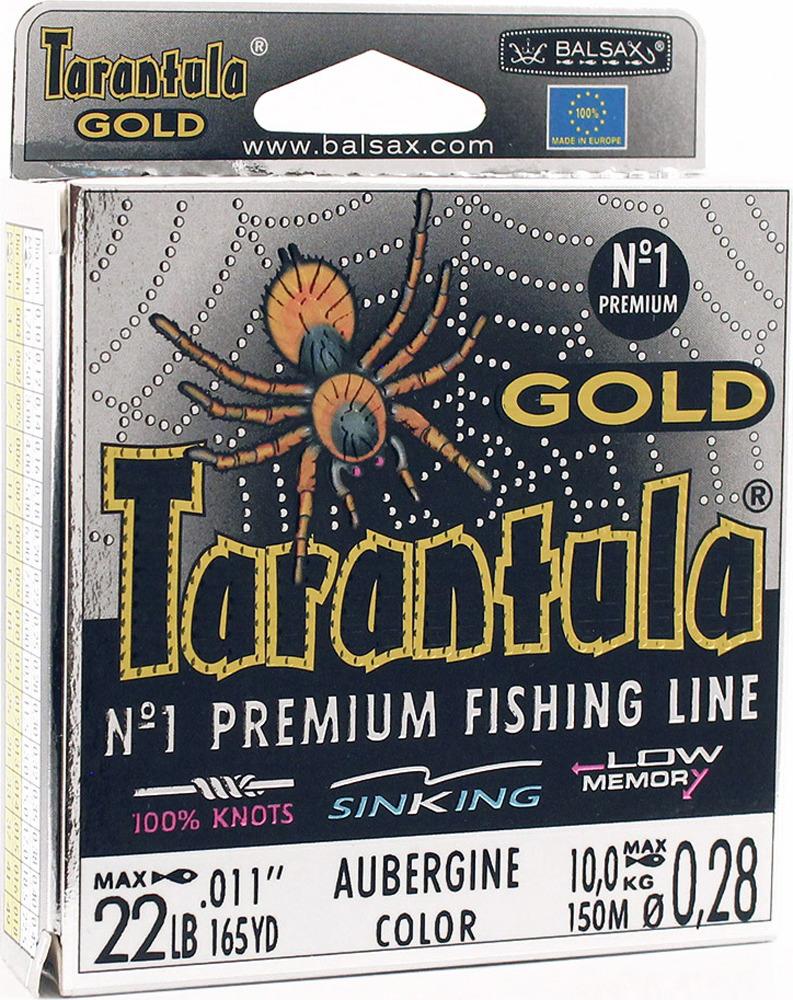 Леска Balsax Tarantula Gold, 150 м, 0,28 мм, 10,0 кг леска balsax tarantula gold 100 м 0 32 мм 13 0 кг