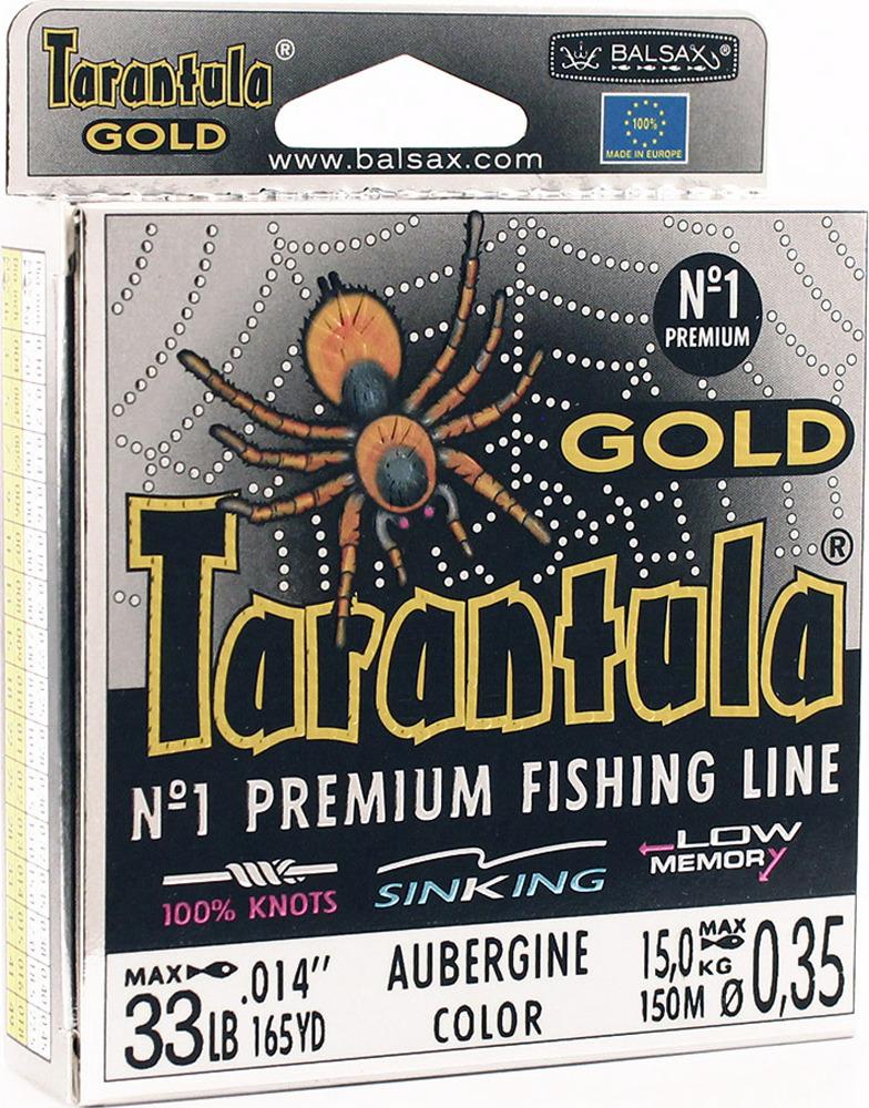 Леска Balsax Tarantula Gold, 150 м, 0,35 мм, 15,0 кг леска balsax tarantula gold 100 м 0 32 мм 13 0 кг