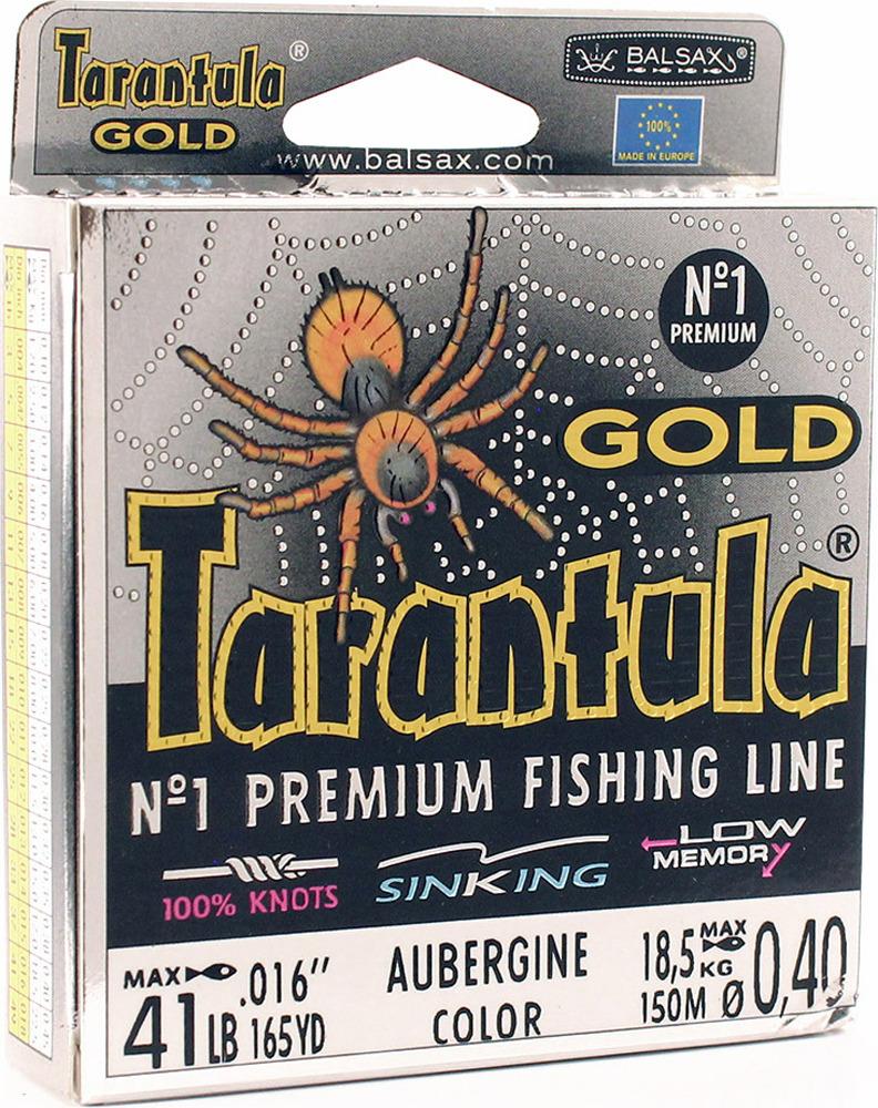 Леска Balsax Tarantula Gold, 150 м, 0,40 мм, 18,5 кг леска balsax tarantula gold 100 м 0 32 мм 13 0 кг