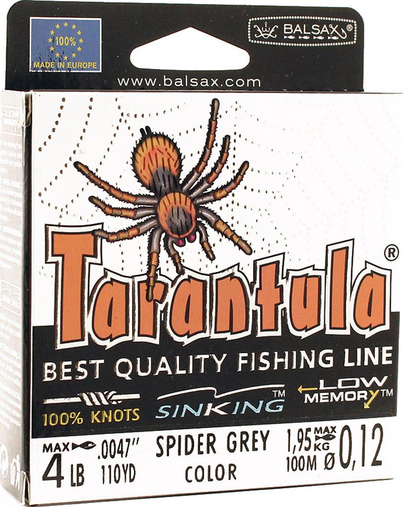 Леска Balsax Tarantula, 100 м, 0,12 мм, 1,95 кг леска balsax tarantula 100 м 0 55 мм 29 7 кг
