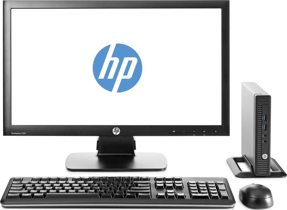 Настольный компьютер HP 260 G2.5 DM Bundle + монитор V214 (2TP88ES) все цены