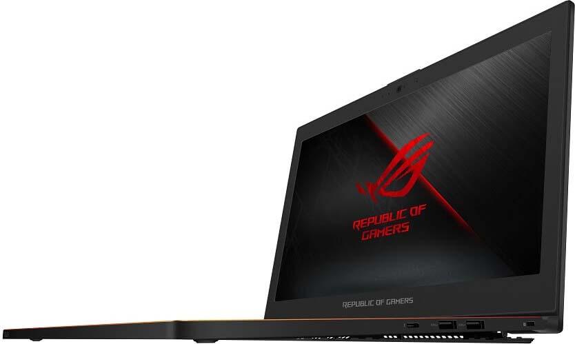 15.6 Игровой ноутбук ASUS ROG Zephyrus M GX501GI 90NR00A1-M01390, черный gx501gi ei040t