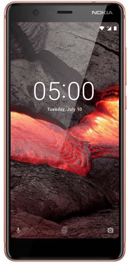 Смартфон Nokia Nokia 5.1 2 / 16 GB, медь