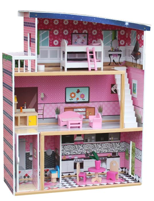 Игровой набор Lanaland Кукольный домик. W06А214 lanaland деревянная кухня lanaland верона