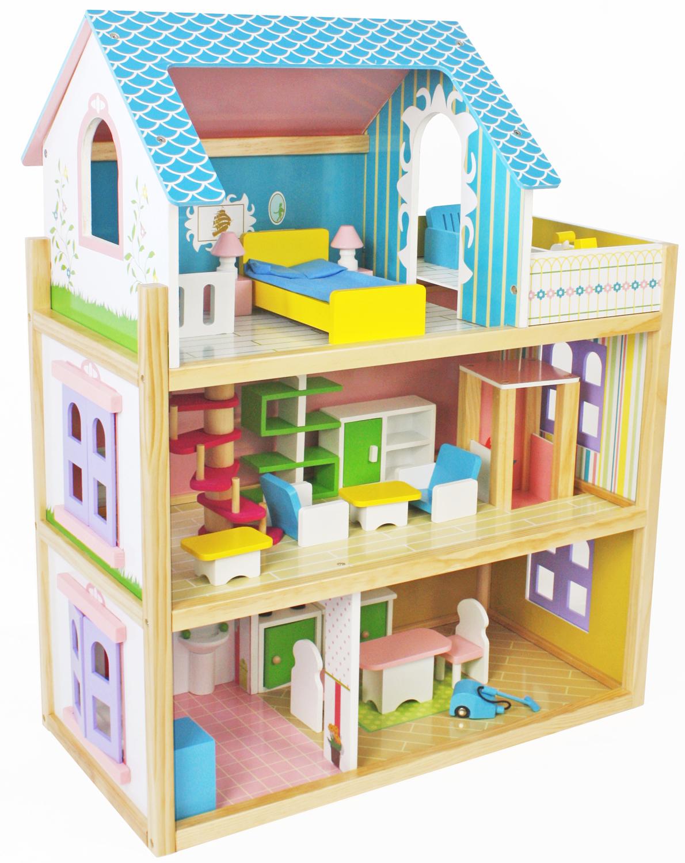 Игровой набор Lanaland Кукольный домик. W06A231 lanaland деревянная кухня lanaland верона