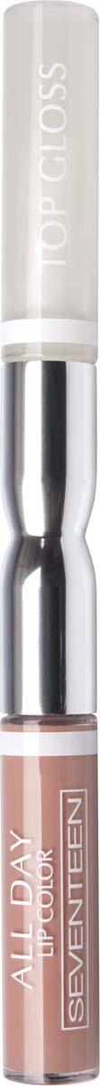 Жидкая губная помада-блеск Seventeen All Day Lip Color&Top Gloss, стойкая, оттенок №31, 3,5 мл