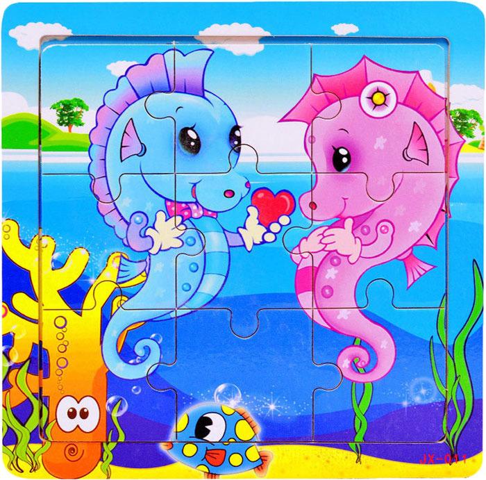 Пазл для малышей Dolemikki , цвет: синий. PT0006
