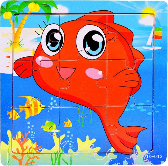 Пазл для малышей Dolemikki , цвет: красный. PT0008
