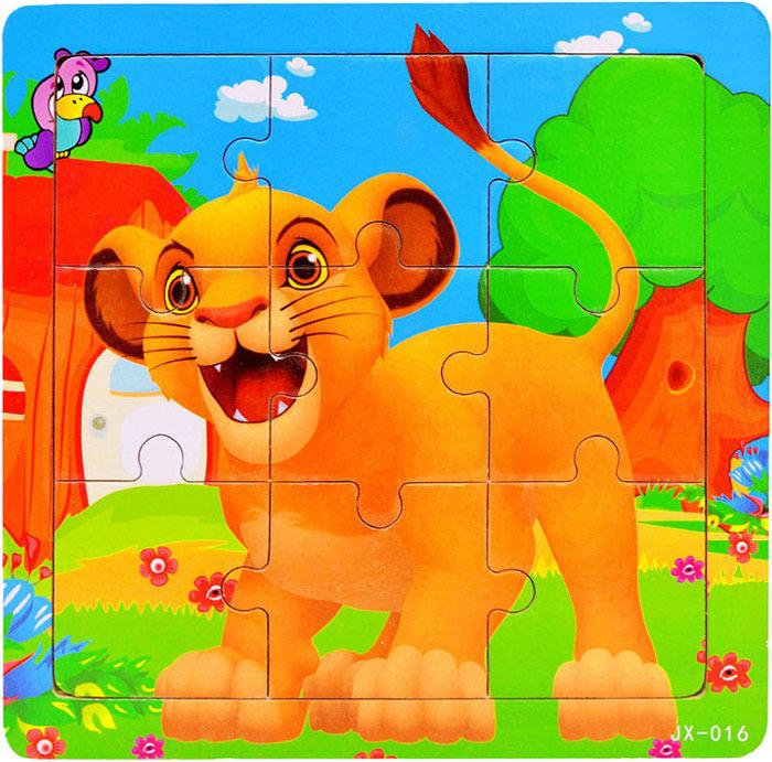 Пазл для малышей Dolemikki , цвет: оранжевый. PT0016 фантазер пазл для малышей дом и дерево цвет основы оранжевый