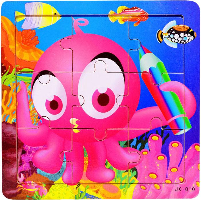 Пазл для малышей Dolemikki , цвет: розовый. PT0018