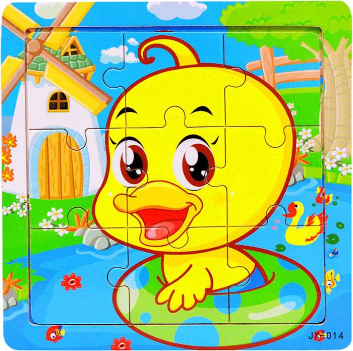 Пазл для малышей Dolemikki , цвет: желтый. PT0023