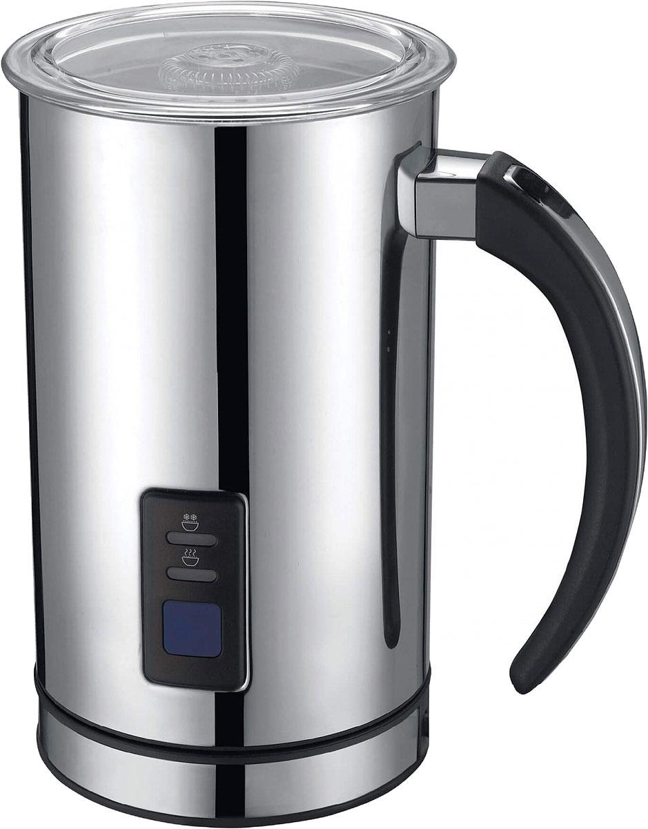 Подогреватель и вспениватель молока Gemlux GL-MF-08, цвет серебристый вспениватель молока ves h 200 b черный