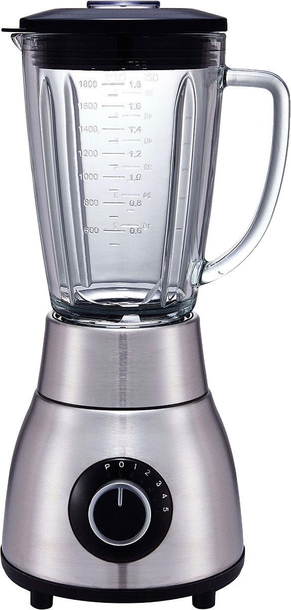 Блендер Gemlux GL-BL1200M, цвет серебристый, черный