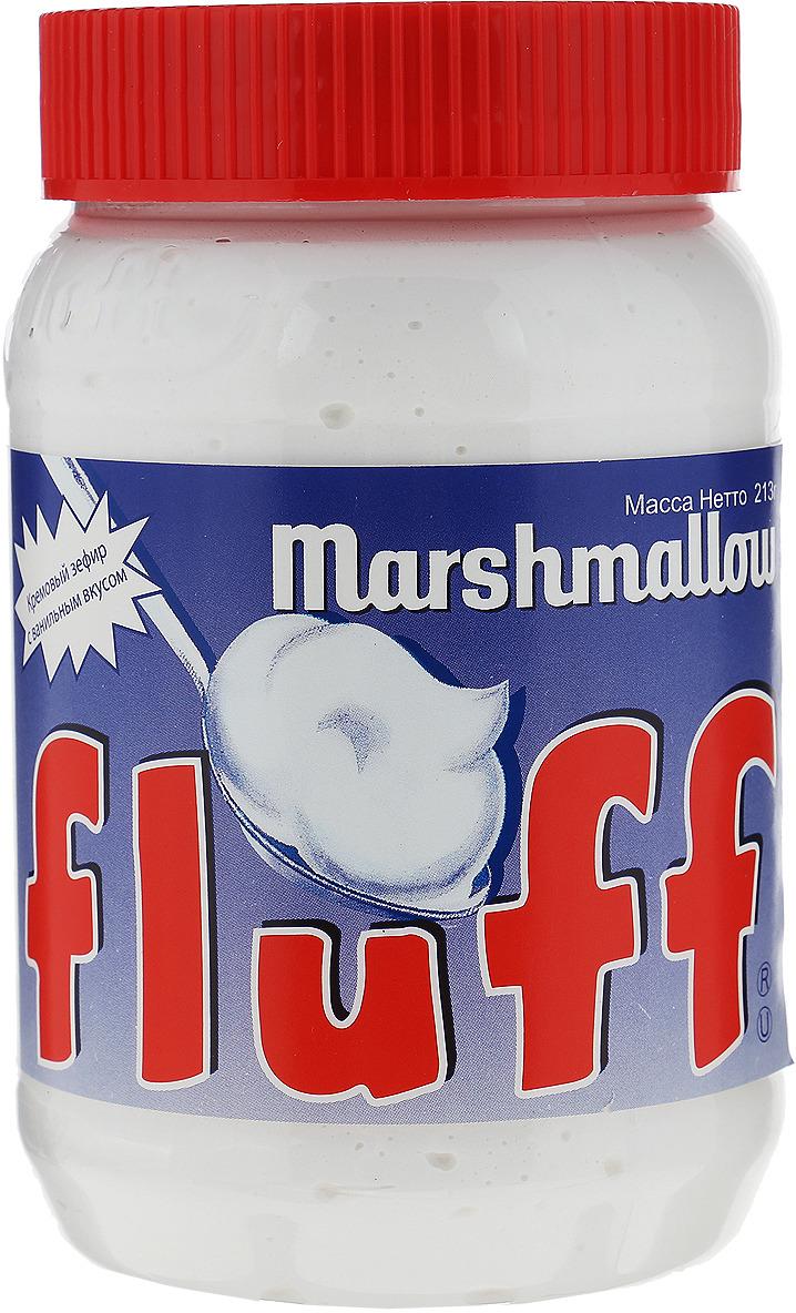 Fluff зефир кремовый Marshmallow с ванильным вкусом, 213 г fluff зефир кремовый marshmallow с ванильным вкусом 213 г