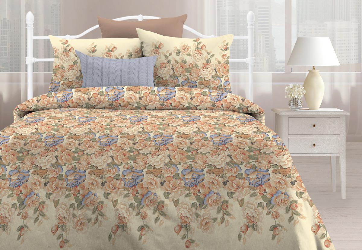 Комплект постельного белья Любимый дом Прикосновение, 1,5 спальное, наволочки 70х70500186Комплект постельного белья Любимый дом является экологически безопасным для всей семьи, так как выполнен из бязи (100% хлопка). Комплект состоит из пододеяльника, простыни и двух наволочек. Постельное белье оформлено оригинальным рисунком и имеет изысканный внешний вид. Бязь - это ткань полотняного переплетения, изготовленная из экологически чистого и натурального хлопка. Она прочная, мягкая, обладает низкой сминаемостью, легко стирается и хорошо гладится. Бязь прекрасно пропускает воздух и за ней легко ухаживать.Приобретая комплект постельного белья Любимый дом, вы можете быть уверены в том, что покупка доставит вам и вашим близким удовольствие и подарит максимальный комфорт.