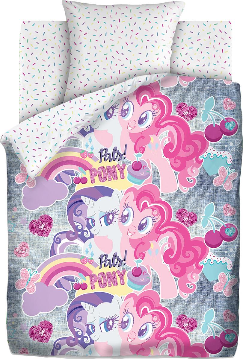 цена Детский комплект постельного белья My little Pony