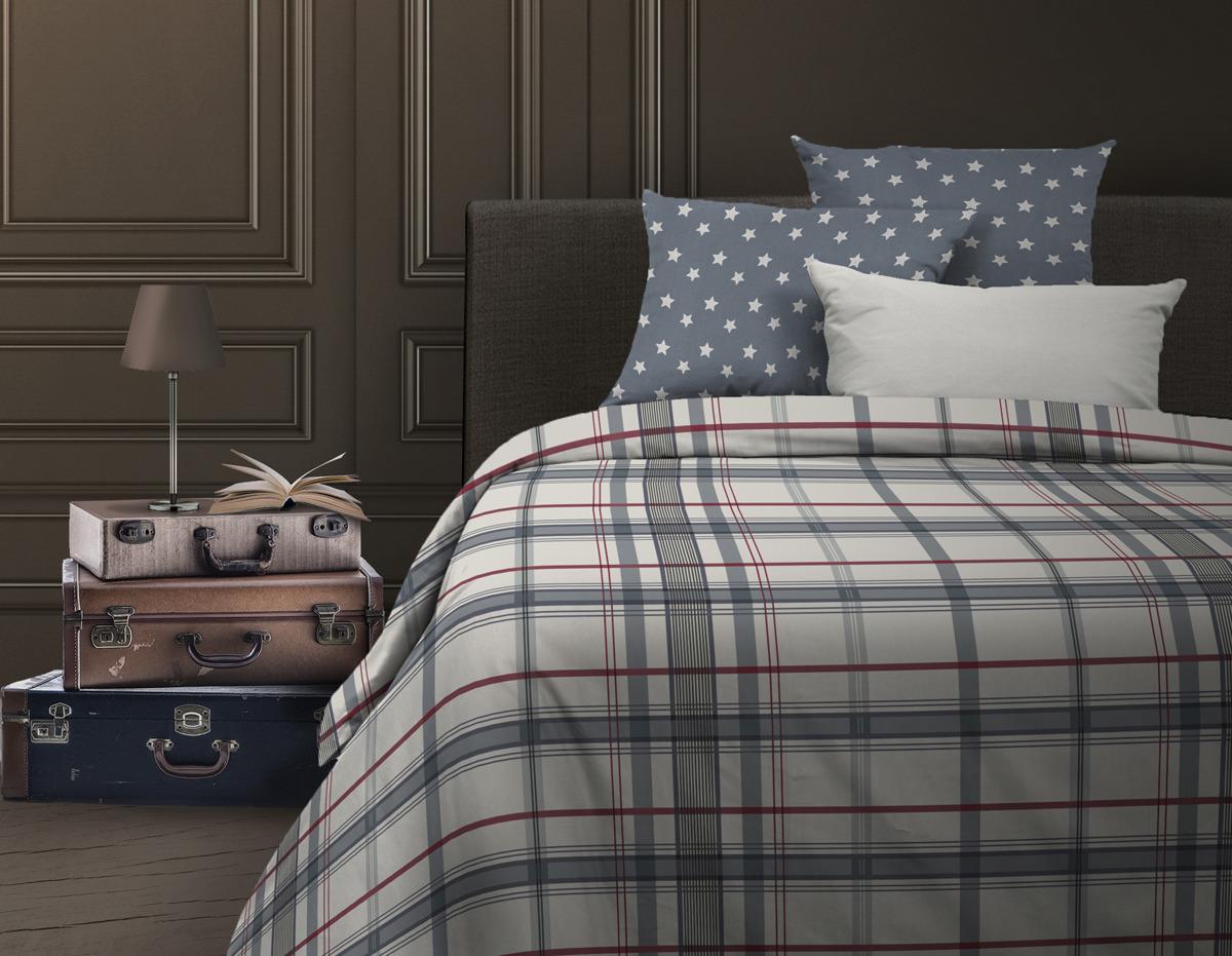 Комплект постельного белья Wenge Bandstar, евро, наволочки 70х70