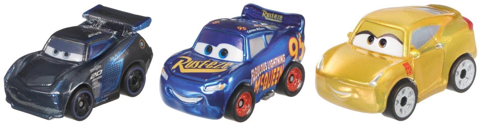 Трековые машинки Cars Мини-машинки. Металлик, 3 шт чемякина в машинки