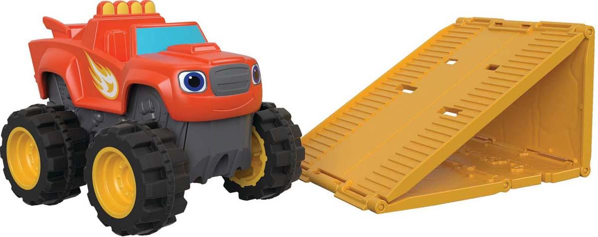Машинка Blaze Вспыш. Чудо-машинка, цвет: оранжевый blaze машинка огурчик dtk29
