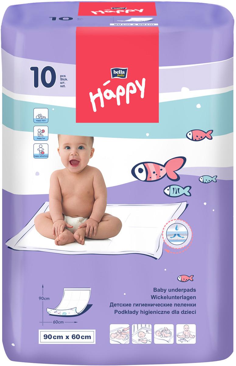 цены на Пеленка одноразовая Bella baby Happy BB-091-MMMM-J02  в интернет-магазинах