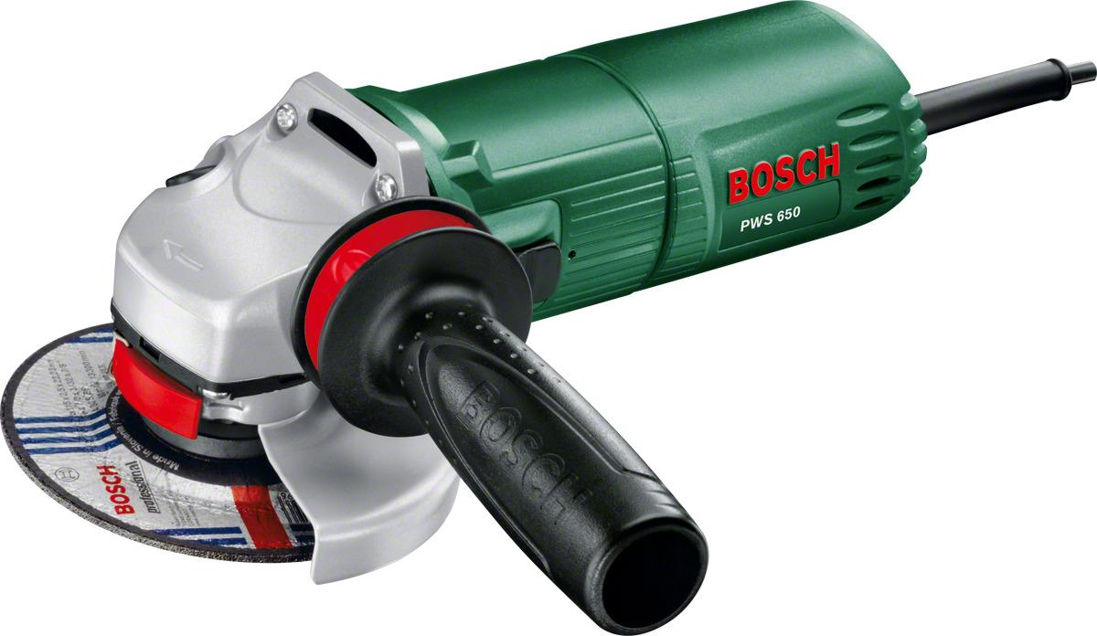 цена на Углошлифовальная машина УШМ Bosch PWS 650-115